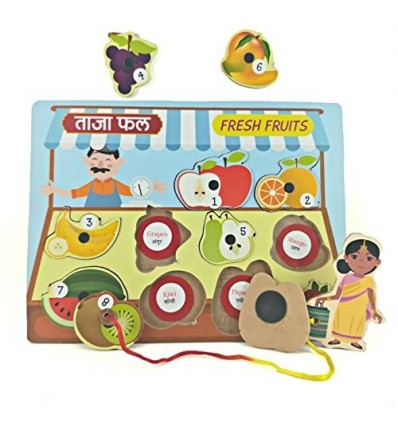 MFM TOYS Magnetic FRUITS Tray Puzzle