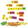 MFM TOYS English Language Word Family Kit (Vocabulary Enhancing) 94 Magnetic Tiles (Does not include magnetic board)