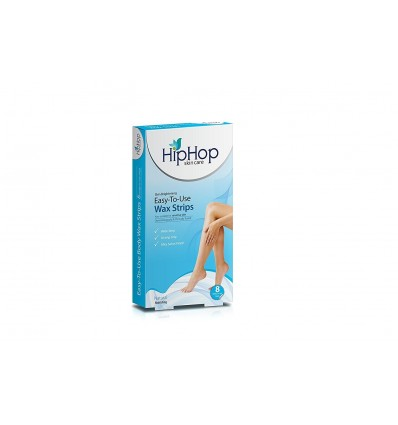HipHop Body Wax Strips with Argan Oil - Natural (Pack of 2)