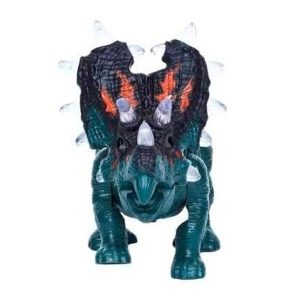 Teena'S Electric Dinosaur Toy With Sound And Walking Forward With Light