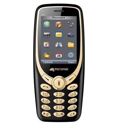 Micromax X1i 2017 Phone With Camera Wireless FM Voice Recording Dual Sim SOS Key