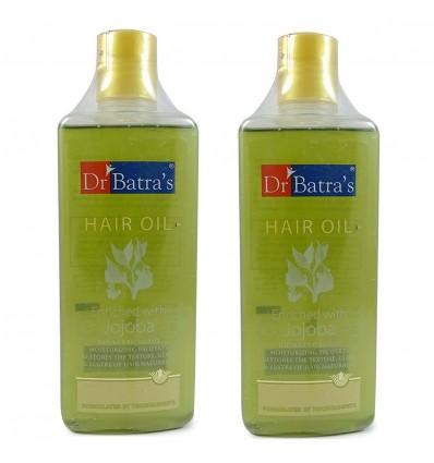 Dr Batras Enriched with Jojoba Hair Oil, 200ml Set Of 2