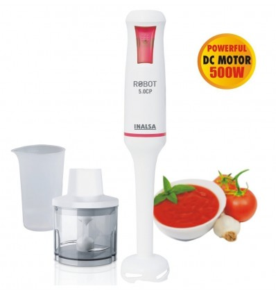 Inalsa Robot 5.0 CP With Chopper DC Motor 500W Hand Blender
