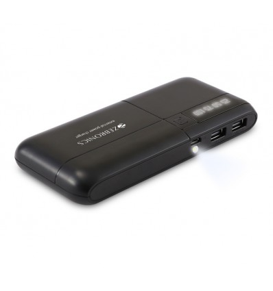 Zebronics 10000mAh Power bank ZEB-MC10000 Dual USB Output + Free Gift☼MRP 1990 Our Price 1399