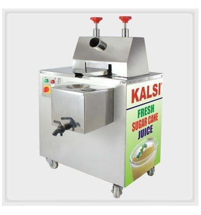 Kalsi Sugar Cane Juice Machine Fully Covered Stainless Steel Body With Motor