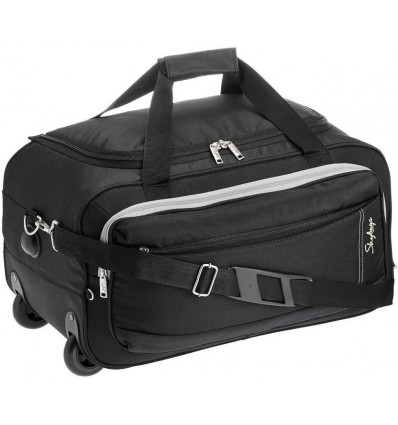 Skybags Duffle Bags for Travel with Trolley Cabin Luggage Bags Italy DFT 62 Soft Sided Suitcase