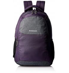 Aristocrat School Bags for High School Teenagers of 15 years Boys Girls Big Stylish (Purple)