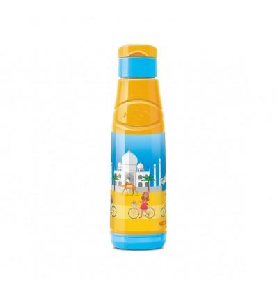 Milton Kool Fun Water Bottle Best Quality Food Grade Pet Bottle Leak Proof lid Hand Free Sipper Water Bottle Insulated Keeps Wat