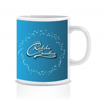Happy Raksha Bandhan Ceramic Coffee Mug ED014