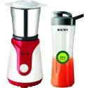 Baltra Winner Plus BMG-127 350-Watt Mixer Grinder with 2 Jars (White and Red)