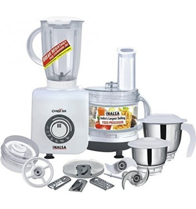 Inalsa Craze Food Processor With Mixer Grinder and Chutney Jar Version 2017