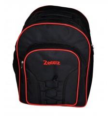 Zenniz School Bags for High School Teenagers of 15 years Boys Girls Low Price Big Stylish Dori (Black Zig Zag)