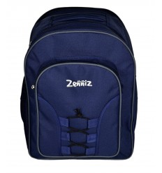 Zenniz School Bags for High School Teenagers of 15 years Boys Girls Big Stylish Dory (Blue Zig Zag)