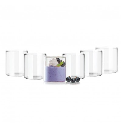 Cello Roma Tumbler, 230ml, Set of 6, Transparent