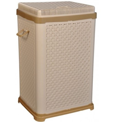 Bharat Fable Laundry Basket for Clothes Extra Large With Lid and Handle Premium Quality Bathroom Storage Basket