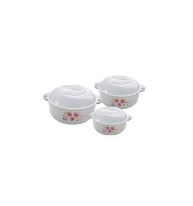 Joyo Cook N Serve Dishwasher Microwave Safe Bowl Set, 5-Pieces, Multicolour