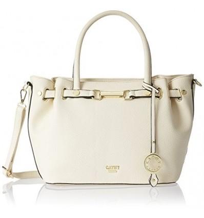 CATHY LONDON Women's Handbag One Size Beige B01LCXCOB6