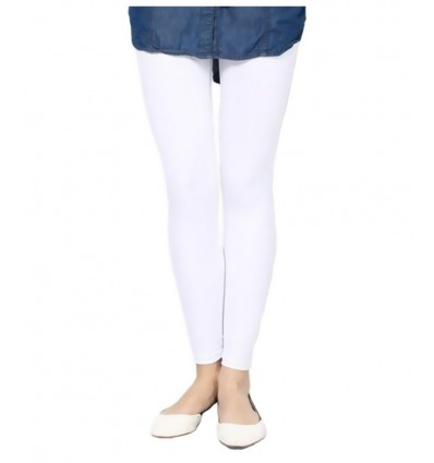Koyoka White Women Leggings XXL
