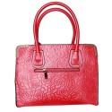 Womaniya Women's PU & Polyester Ethnic Hand Bag One Size Pink B00QMA64RU