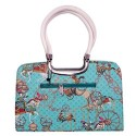 Womaniya Women's Polyester & PU Ethnic Hand Bag One Size Multicolored